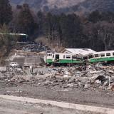【東日本大震災】JR石巻線女川駅(3月30日撮影)
